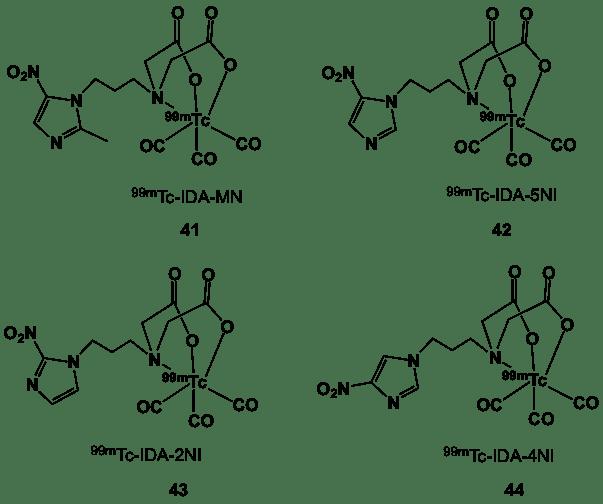 Figure 13. 99mTc-iminodiacetic acid complexes.