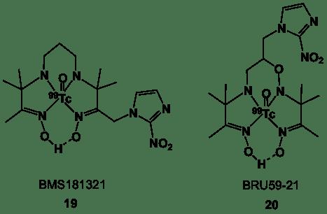 Figure 7. 99Tc-labelled PnAO ligands.