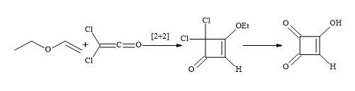 Figure 15. Synthesis of semisquaric acid