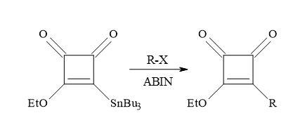 Figure 37. Synthesis of 3-alkoxy-4-alkylcyclobutene-1,2-diones